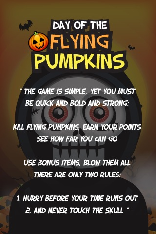 Screenshot Flying Pumpkins Premium